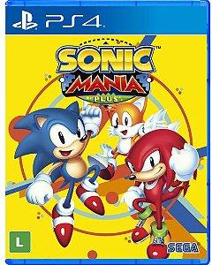 Sonic Mania Plus - PS4 - Novo
