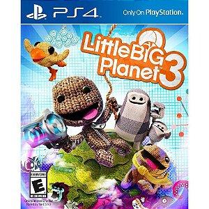 Little Big Planet 3 - PS4 - Novo