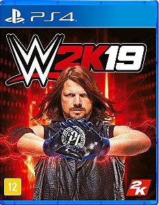 WWE 2K19 - PS4 - Novo