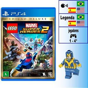 LEGO Marvel Super Heroes 2 Edição Deluxe - PS4 - Novo