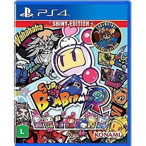 Super Bomberman R Shiny Edition - PS4 - Novo