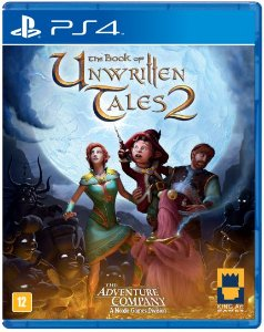The Book of Unwritten Tales 2 - PS4 - Novo