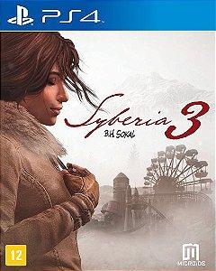 Syberia 3 - PS4 - Novo