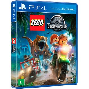 LEGO Jurassic World - PS4 - Novo