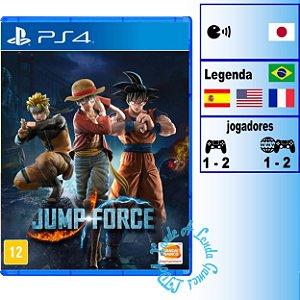 Jump Force - PS4 - Novo