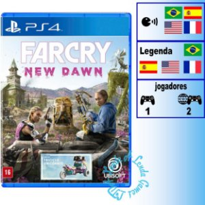 Far Cry New Dawn - PS4 - Novo