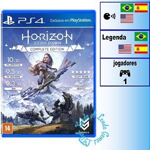 Horizon Zero Dawn Complete Edition - PS4 - Novo