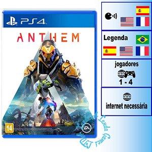 Anthem - PS4 - Novo