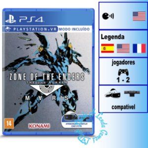 Zone of the Enders The 2nd Runner Mars - PS4 - Novo