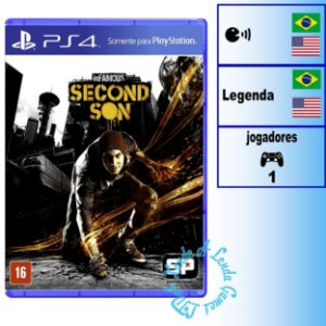 Infamous Second Son - PS4 - Novo
