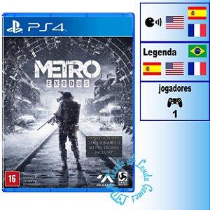 Metro Exodus - PS4 - Novo