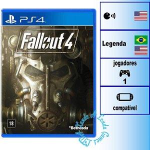 Fallout 4 - PS4 - Novo