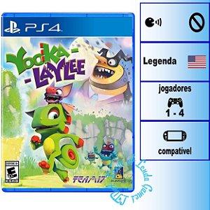 Yooka-Laylee - PS4 - Novo