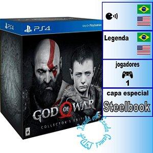 God of War Collector's Edition - PS4 - Novo