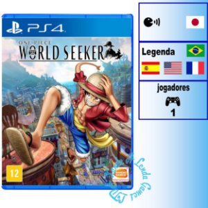 One Piece: World Seeker - PS4 - Novo
