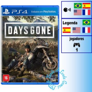 Days Gone - PS4 - Novo