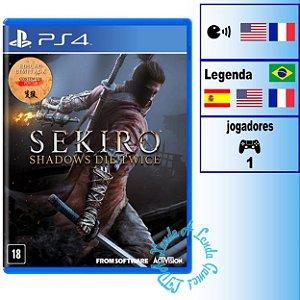 Sekiro: Shadows Die Twice Edição Limitada - PS4 - Novo