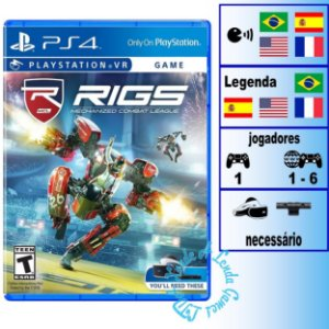 Rigs Mechanized Combat League - PS4 - Novo