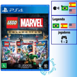 LEGO Marvel Collection - PS4 - Novo