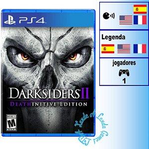 Darksiders II: Deathinitive Edition - PS4 - Novo