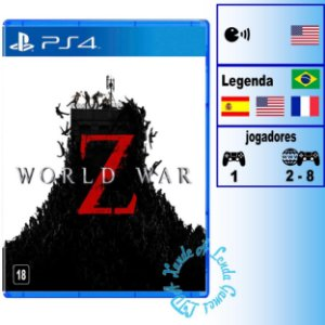 World War Z - PS4 - Novo