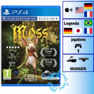 Moss - PS4 - Novo