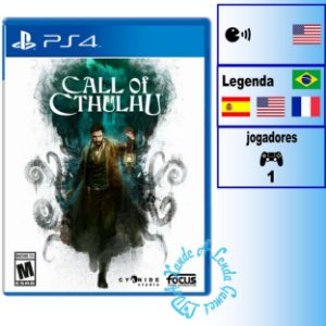 Call of Cthulhu - PS4 - Novo