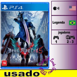 Devil May Cry 5 - PS4 - Usado
