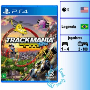Trackmania Turbo - PS4 - Novo