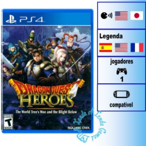 Dragon Quest Heroes The World Tree's Woe and the Blight Below - PS4 - Novo