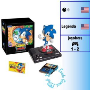 Sonic Mania Collector's edition - PS4 - Novo