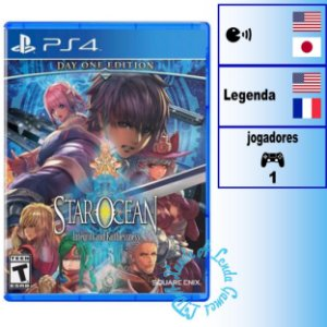 Star Ocean Integrity and Faithlessness Day One Edition - PS4 - Novo