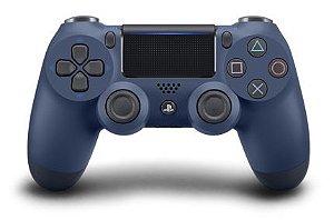 Controle Dualshock 4 - PS4 - Novo - Azul Meia-Noite (Midnight Blue)