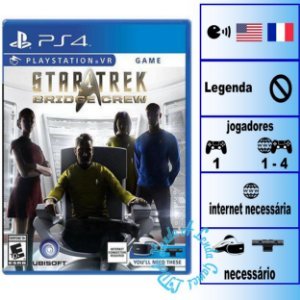 Star Trek Bridge Crew - PS4VR - Novo