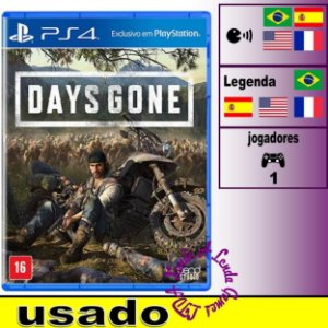 Days Gone - PS4 - Usado