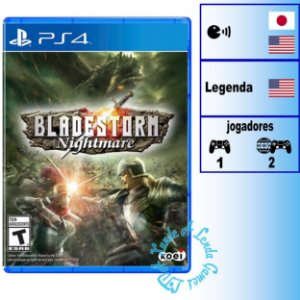 Bladestorm: Nightmare - PS4 - Novo