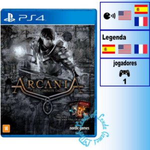 Arcania The Complete Tale - PS4- Novo