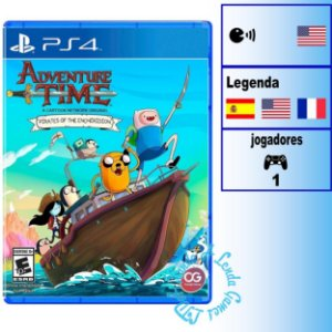 Adventure Time Pirates of the Enchiridion (Hora da Aventura) - PS4 - Novo