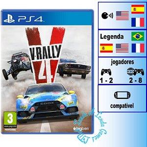 V-Rally 4 - PS4 - Novo