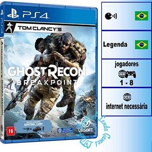 Tom Clancy's Ghost Recon Breakpoint Edição de Lançamento - PS4 - Novo