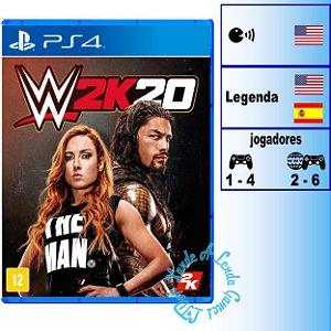 WWE 2K20 - PS4 - Novo