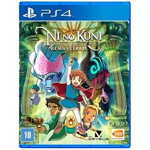 Ni No Kuni Wrath of the White Witch Remastered - PS4 - Novo