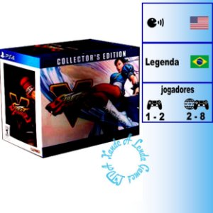 Street Fighter V Collector's Edition - PS4 - Novo