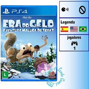 Era do Gelo Aventura Maluca do Scrat - PS4 - Novo