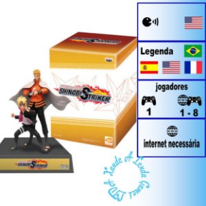 Naruto to Boruto Shinobi Striker Collector's Uzumaki Edition - PS4 - Novo