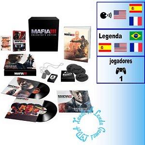 Máfia III Edição de Colecionador - PS4 - Novo