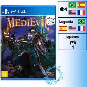 Medievil - PS4 - Novo