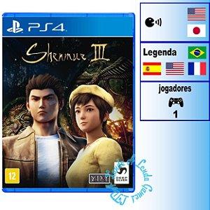 Shenmue III - PS4 - Novo