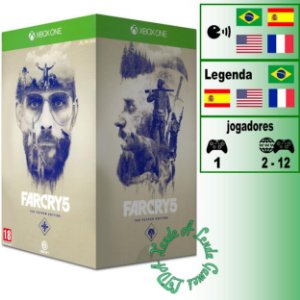 Far Cry 5 The Father Edition - XBOX ONE - Novo