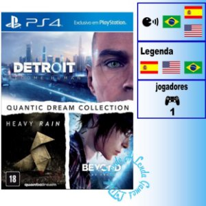 Quantic Dream Collection - PS4 - Novo